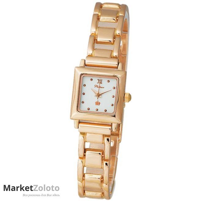Часы ника белое золото женские